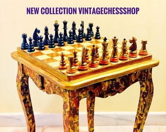 Queen Anne Chess Table