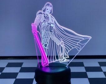 Star Wars Dark Vader 3D Chess Lamp