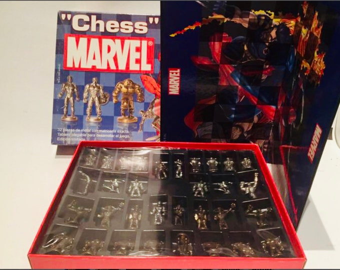 Featured listing image: Marvel Superheroes Chess