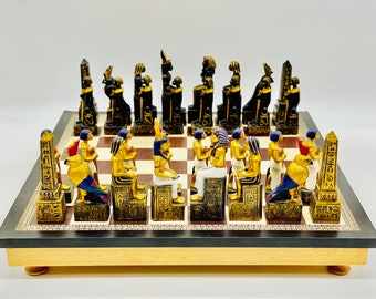 Egyptian Chess Pharaohs