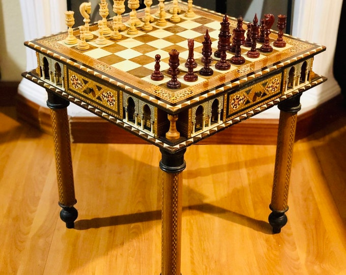 Featured listing image: Chess table Alhambra