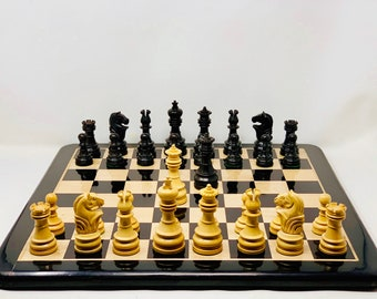 Chess Fire Horses with Board