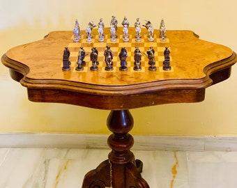 Chess table Bull Skin