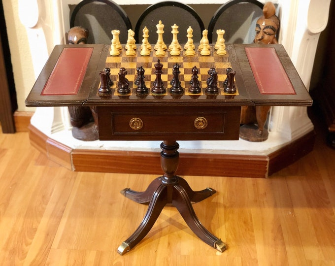 Victorian table with Anderssen style pieces