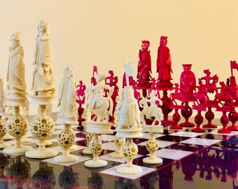 Ancient Chess Chinese Emperors