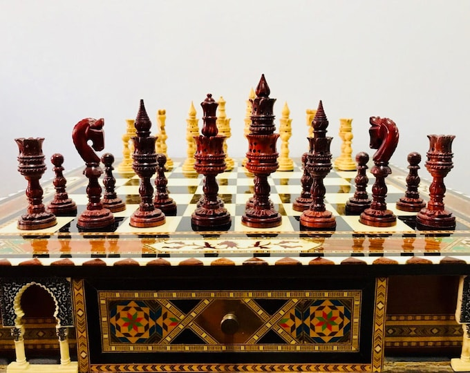 Chess thousand and One Nights of Palo Rosa. Arabica art.