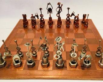 Spanish Chess Constructivist dedicated to Flamenco