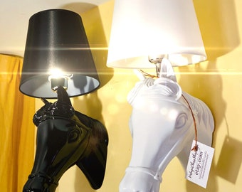Chess Horses Lamps