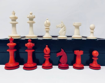 History Chess. KP Uhlig German Bone with board