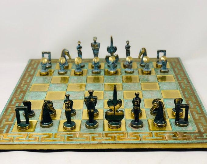 Chess Art Bronze Age