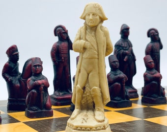 Ancient Chess Napoleon Waterloo