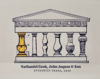 Autentic Chess: Nathaniel Cook, John Jaques & Son. Jaques Staunton