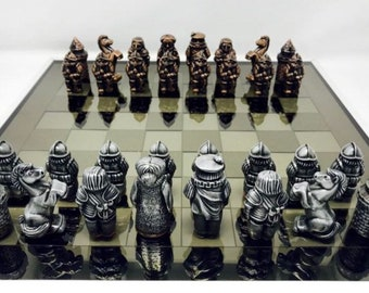 Chess Lasquetes Soldiers of the Renaissance.
