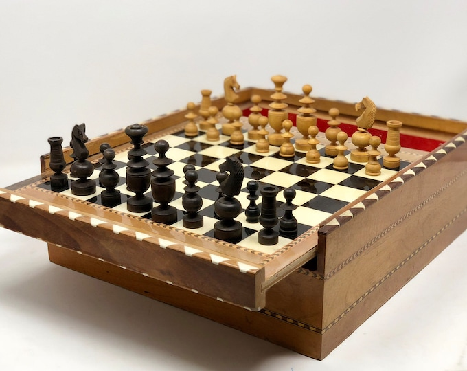 Old Spanish chess Pedro Domecq