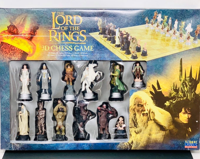 Featured listing image: Chess Lord of the Rings