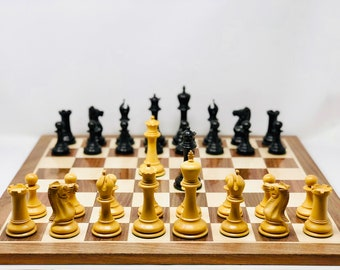 Jaques style chess Staunton with board