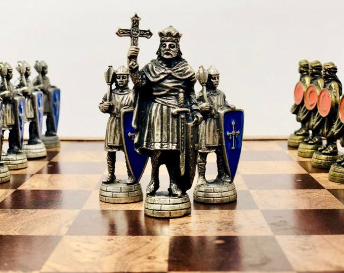 Chess Christians vs Muslim Middle Ages