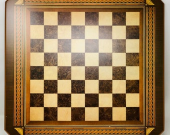 Wooden Fantasy Chess board