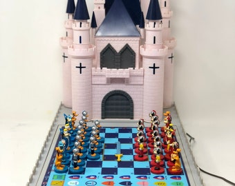Chess Disney Novag Computer 1988