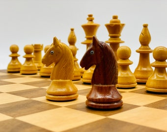 Old German Staunton Chess