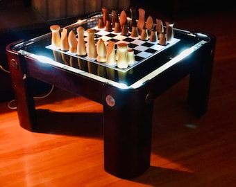 Art Deco Chess Table