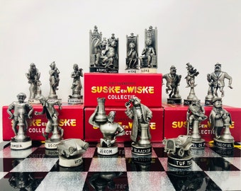 Comic Chess en Wiske & Wiske