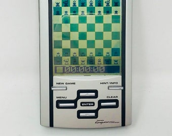 Chess Kasparov Mephisto of Saitek with touch screen
