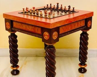 Regency Chess table