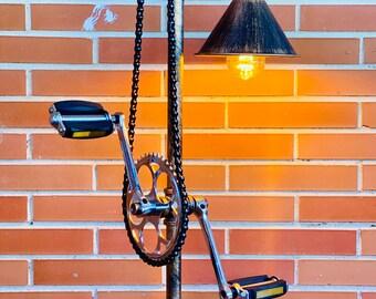 Bicycle Constructivista Lamp