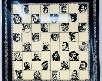 Chess Board History of Spain