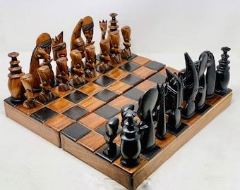 Chess African Art