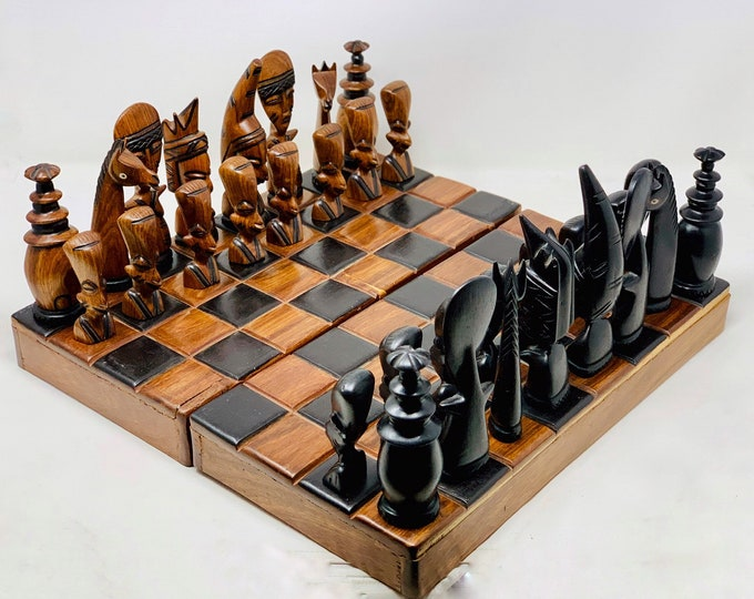 Featured listing image: Chess African Art