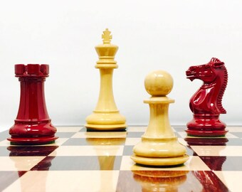 London Howard Staunton Lacquered Chess. 1849