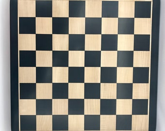 Ebony chess board luxury