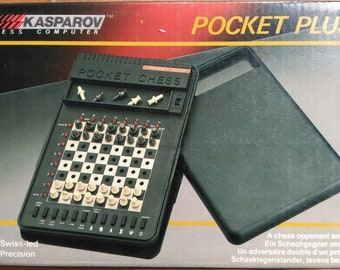 Electronic Chess Saitek Pocket plus Kasparov