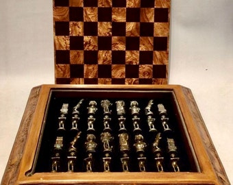 Chess Sculptures Roman Empire
