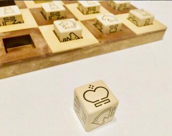Rare Chess with Craps. Chess dice