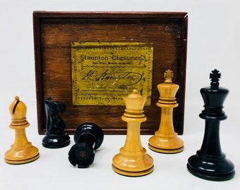 Vintage Chess Chess Jaques Staunton Original