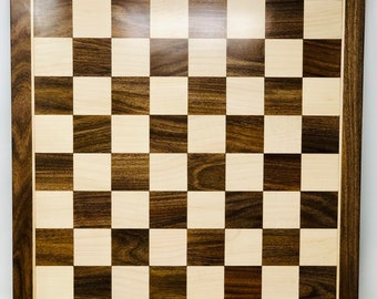 Chess Board Wood Rosewood