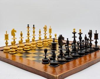 Neoclassical Chess Table Selenus