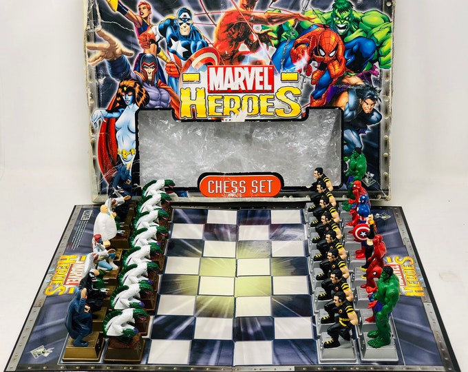 Featured listing image: Original Marvel Chess
