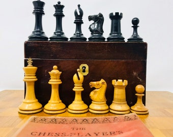 Staunton Jaques Popular English Chess