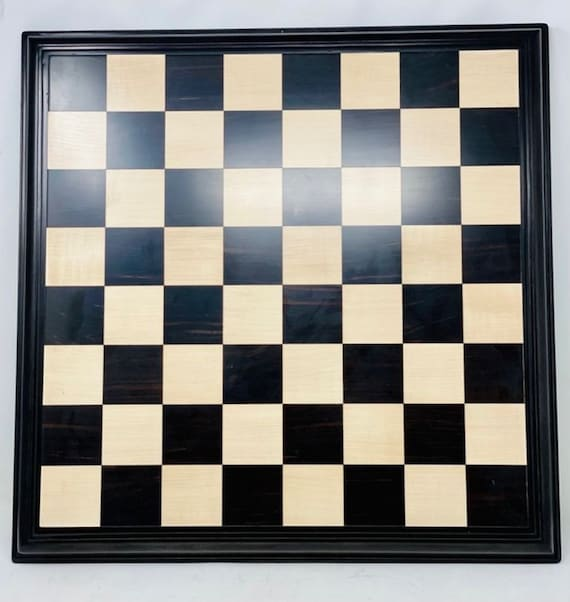 Great Luxury Chess Board. Ebony