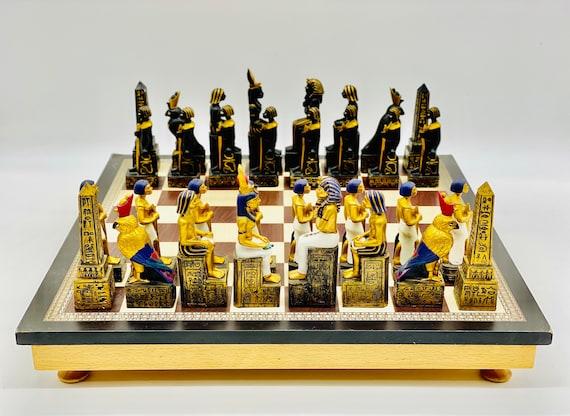 Egyptian Chess Pharaohs