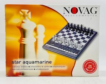 Novag Star Aquamarine Electronic Chess Computer