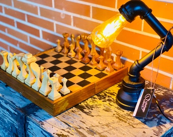 Flexo Constructivist Lamp