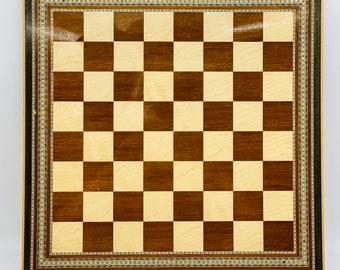 Taracea Nazarí Chessboard