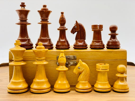 Old German Staunton Chess