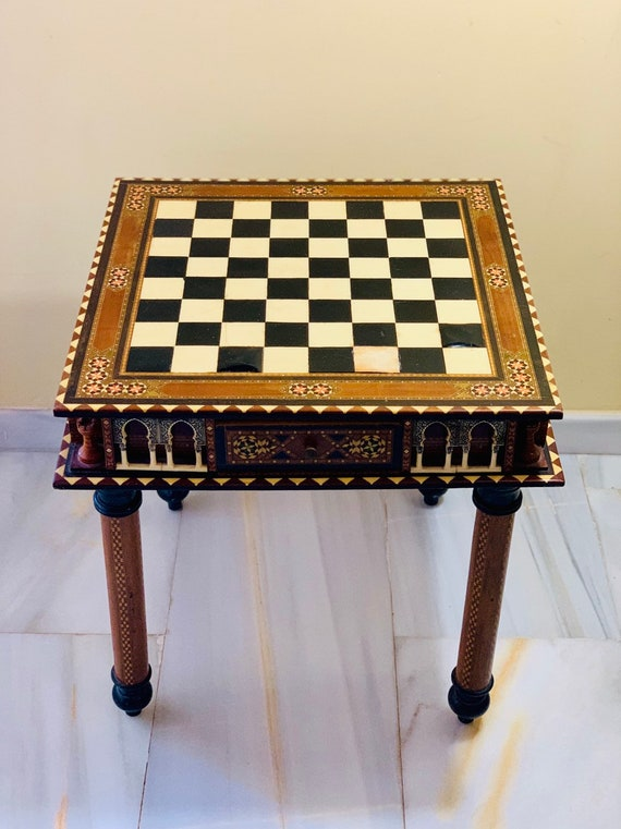 Alhambra Chess Table