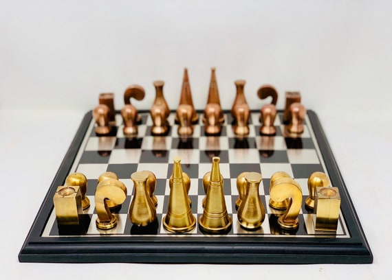 Man Ray Gold-style Surreal Chess